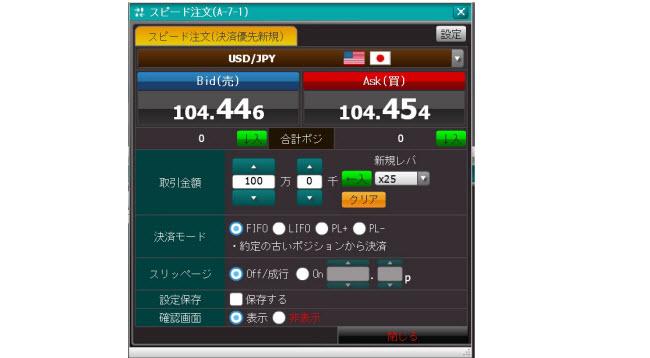 上田ハーロー[外貨アクティブ](スピード注文系システム)